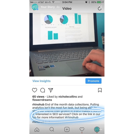 Instagram Linking
