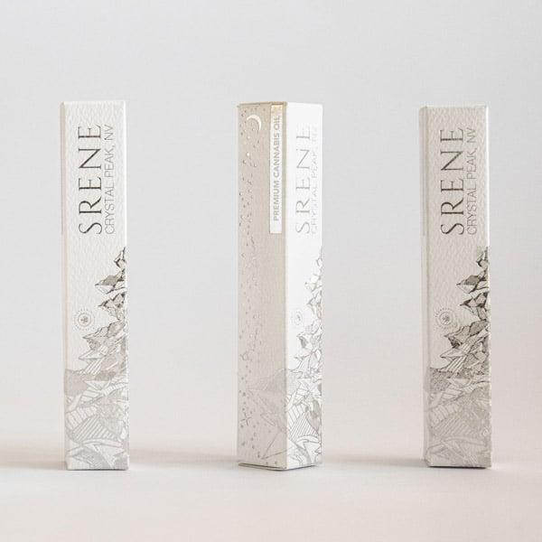 reflective foil cannabis packaging reno design
